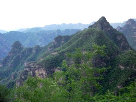 玉皇坨-景点图片-景区景点-景区风景-保定泓皇城荒山